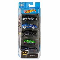 Hot Wheels Batman 5-pack