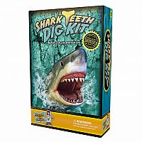 Shark Tooth Dig Kit — Dig Up 3 Real Shark Teeth Fossils!