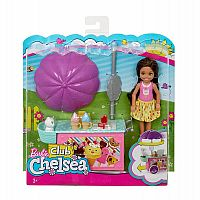 Chelsea Barbie® doll and Ice Cream Cart