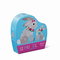 Bunny Love Mini Puzzle