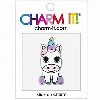 Baby Unicorn Charm Sticker