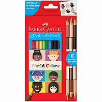 World Colors 15 ct Colored EcoPencils