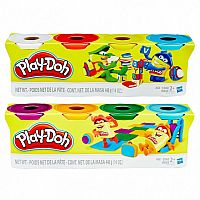 Play Doh 4 pack 4 oz