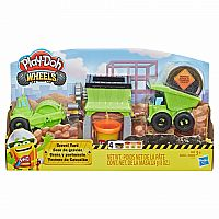 Gravel Yard Wheels Play-doh
