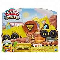 Play Doh Wheels Excavator