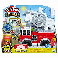 Play-Doh Wheels Firetruck Set