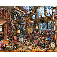 1000 pc Hunting Lodge Puzzle