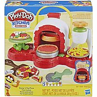 Play Doh Stamp and Top Pizza