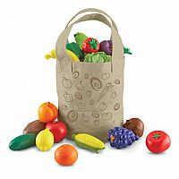 Fresh Picked Fruit Veggie Tote