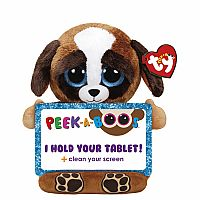 TY Peek-A-Boo Tablet Holder with Screen Cleaner Bottom PUPS