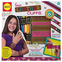 Faux Leather Cuffs Kit
