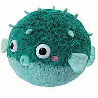 Teal Pufferfish Squishable