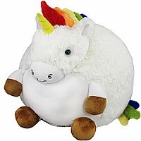 Rainbow Unicorn Squishable