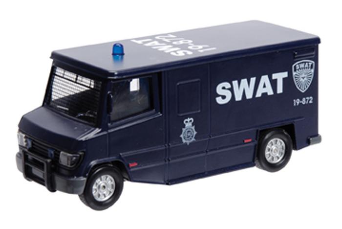 Swat Truck Die Cast Fun Stuff Toys