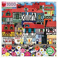 1000 pc Whimsical Village puzzle