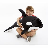 Orca Giant Stuffed Animal